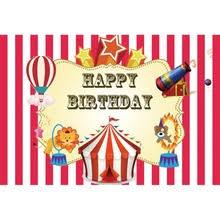 <b>Laeacco Happy Birthday</b> Balloons Animals Baby Children Cartoon ...