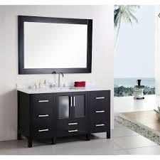 element stanton white bathroom vanity
