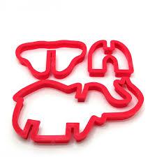 10PCS Jungle <b>Animal Plastic</b> Cake <b>Mold</b> Cookie Cutter <b>Fondant</b> ...