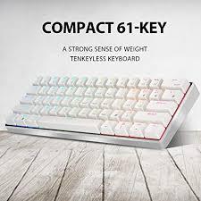 <b>RK ROYAL KLUDGE</b> RK61 Pro 61 Keys <b>RGB</b> Wir- Buy Online in ...