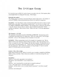 cover letter evaluation examples essay cover letter cover letter outline evaluation examples essay archaicfair critique essay paper examples how to write