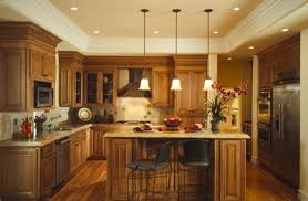 exquisite kitchen lighting marvelous this kitchen island is lighted with low hanging pendant lights with an beautiful kitchen lighting