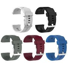 Sports <b>Silicone Replacement</b> Wristwatch Band for Polar V800 <b>Smart</b> ...