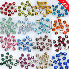 Faceted Loose Rhinestone Beads for sale | eBay