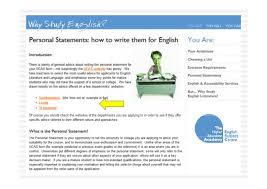 Writing a personal statement for college application uk Middlewich High School Document image preview