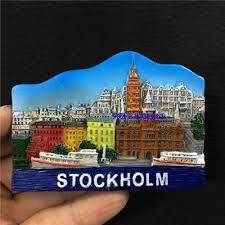 <b>Stockholm Sweden</b> Tourism Memorial Refrigerator Magnet <b>Resin</b> ...
