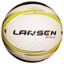 Футбольный <b>мяч Larsen Duplex №5</b> white купить, цены в Москве ...