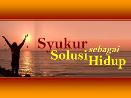 Image result for syukur
