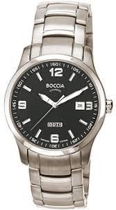 <b>Часы Boccia 3530-06</b> - купить мужские наручные <b>часы</b> в ...