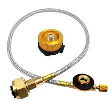 Parts & Accessories <b>Outdoor Gas Stove</b> Propane Refill Adapter ...