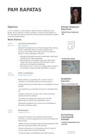 accounting assistant resume samples   visualcv resume samples databaseaccounting assistant resume samples