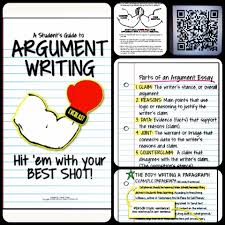 best images about argument writing anchor charts 17 best images about argument writing anchor charts graphic organizers and writing process