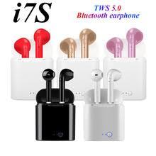 <b>Bluetooth</b>-<b>наушники I7s TWS</b> 5,0, Беспроводные стереонаушники ...