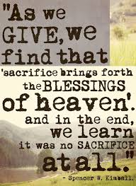 Biblical Quotes On Sacrifice. QuotesGram
