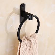 Черное <b>кольцо для полотенец</b>, вешалка для полотенец ...