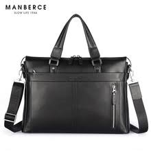 <b>New Genuine Leather Men's</b> Bag