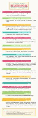 15 ways to get more lance writing jobs money making lance writing jobs infographic