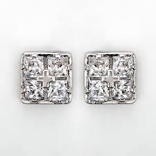 <b>Серебряные серьги пусеты</b>, гвоздики купить в ювелирном магазине