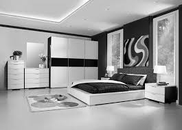 room fabio black modern:  hotel large size wonderful black white wood glass cool design modern bedroom ideas awesome walled
