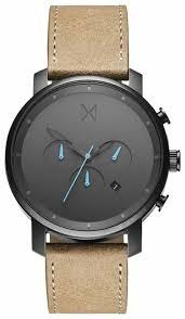 Наручные <b>часы MVMT</b> Chrono Series - Gunmetal/Sandstone Leather