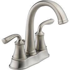 inspiration sink faucet bathroom double chrome delta