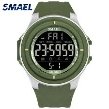 LED <b>Digital Wristwatches Luxury</b> Brand <b>SMAEL</b> Men Clock ...