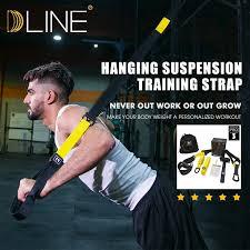 <b>Resistance Bands Set 6</b> Levels Elastic Latex Gym Strength Training ...