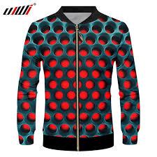 <b>UJWI Winter</b> Hot Sale <b>Men's</b> Sport Zip Jacket 3D Printed Musical ...