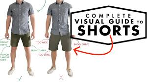 A Complete Visual Guide to <b>Men's</b> Shorts   How Shorts Should <b>Fit</b> ...