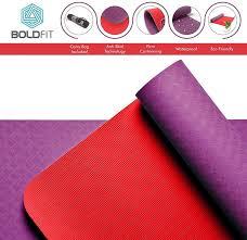 Boldfit BoldMat Pro Grip Other <b>Yoga Mat</b> (Red): Amazon.in: Sports ...