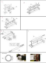 Ricoh Aficio MP 3350B AE011103 Upper <b>Hot Roller</b> Replacement ...