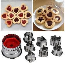 <b>7Pcs</b>/lot <b>Cookie Cutter</b> Tools 3D Scenario Stainless Steel Cookie ...