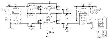 dc motor control wiring diagram wirdig dc motor ir2104 h bridge electronics lab
