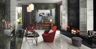 Living <b>room</b> in marble-look porcelain tiles - <b>Atlas Concorde</b>