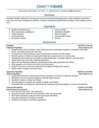 construction resume cover letter cover letter for project manager construction resume cover letter resume pipefitter printable pipefitter resume full size
