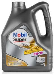 <b>Моторное масло MOBIL</b> Super 3000 X1 Formula FE 5W-30 4 л ...