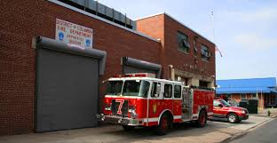history of the district of columbia fire and emergency medical a dcfems fire engine outside the department s repair facility on m street sw
