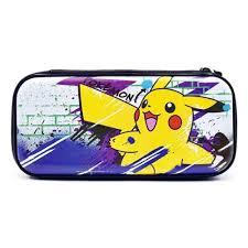 Защитный <b>чехол Hori Premium</b> vault case (Pikachu) для Switch ...