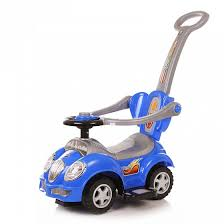 <b>Каталка Baby Care</b> Cute Car Blue - купить в Москве: цены в ...