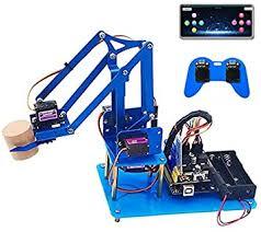 KEYESTUDIO 4DOF Metal Robot Arm Kit for Arduino ... - Amazon.com