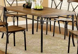 Industrial Style Kitchen Table Rustic Dining Tables O Nifty Homestead
