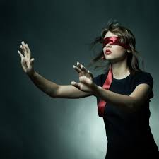 Image result for person blindfolded