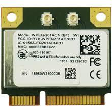 WPEQ-261ACNI(BT) - <b>802.11</b>ac/<b>a/b</b>/<b>g</b>/<b>n</b> Wi-Fi / <b>Bluetooth</b> Half Mini ...
