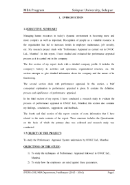 study on performance appraisal system in ongc mumbai