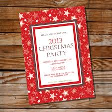 traditional red christmas party invitation red holiday invite how it works
