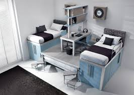 Bedroom For Two Twin Beds Brown Wooden Bed Frames Twin Bed Frames Boy And Girl Shared
