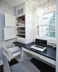 built in office. nice idea for the kitchen built in office desk