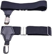 <b>1 Pair Men</b> Sock Garters Suspenders Hold Up Braces Clip Belt ...