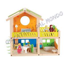 Mobili Per La Casa Delle Bambole : Happy villa casa delle bambole hape