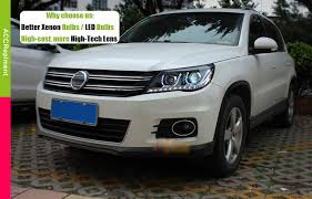 <b>Альтернативная оптика ксенон</b> в VW Tiguan с aliexpress ...